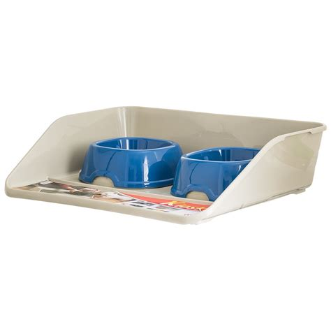 puppy feeding bowls marchioro products marchioro kiosk feeding tray with bowls bowls dishes