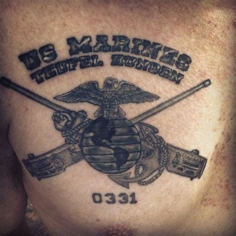 devil dog tattoo designs 36 best usmc images on
