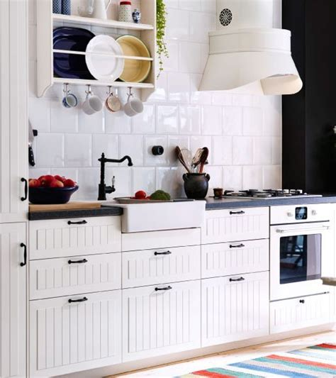 Beadboard Backsplash In Kitchen Ikea Hittarp Google Search For The Cottage Aka Torpet