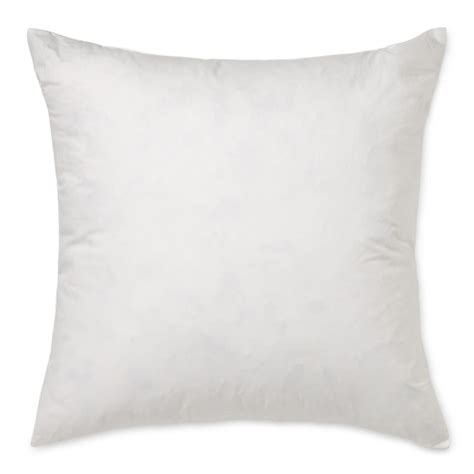 Pillow Insert 20 X 20 by Williams Sonoma Decorative Pillow Insert 20 Quot X 20