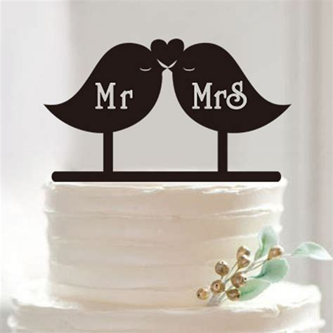 2016 new wedding cake topper personalized acrylic