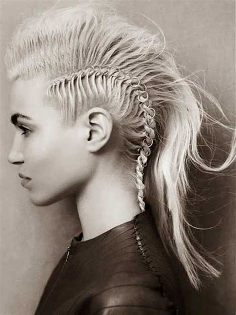 how to do punk hairstyles for long hair 20 punk long hairstyles hairstyles haircuts 2016 2017