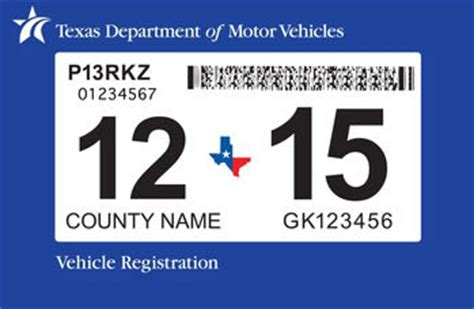 dallas motor vehicle registration two steps one sticker new inspection program