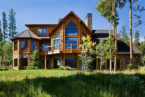 custom log homes