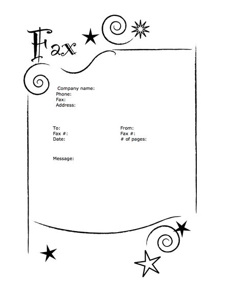 cute printable fax cover sheets fun 01 cover sheet templates by myfax