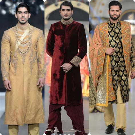 Best Pakistani Men Wedding Dresses for Groom 2018