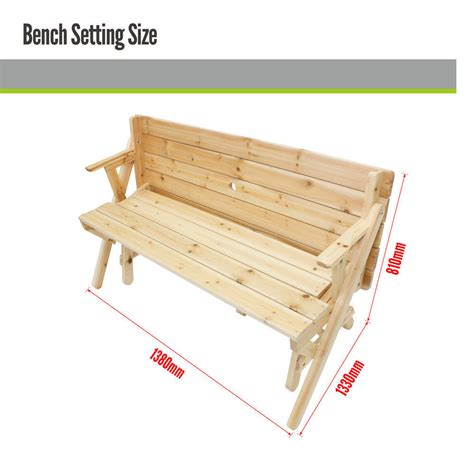 park bench and table picnic table park bench setting outdoor garden bench set
