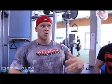 ben pakulski teaches chest for ben pakulski teaches bicep biceps workout tips