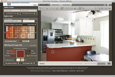 sherwin williams color visualizer tool two tone kitchen with sherwin williams the crafting chicks
