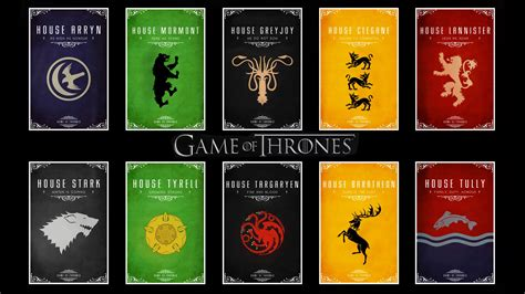 houses in game of thrones ruling houses of game of thrones ten kingdoms 1920x1080 hd image tv series game of
