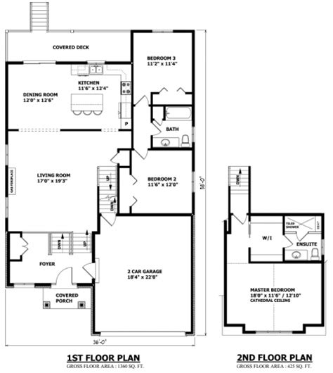 best modern bungalow house plans canada plan canadian