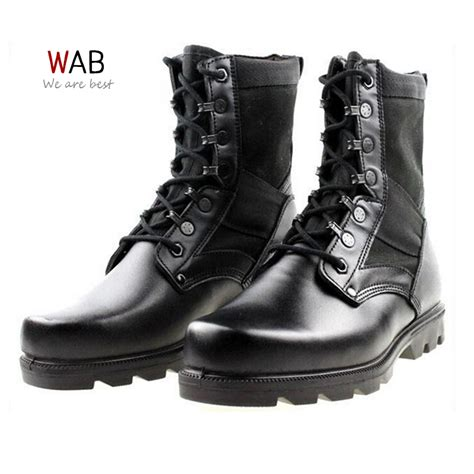 Sepatu Zimzam Zapato Middle Boot botas militares fashion
