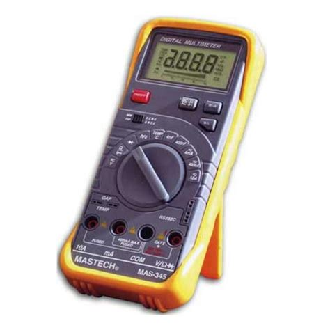 Multimeter Digital Mastech digital multimeter mastech mas345 digital multimeter auto and manual scaling data hold