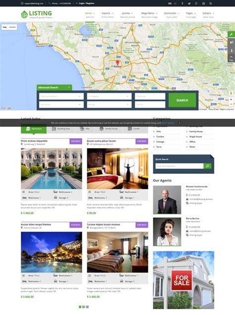 Joomla Real Estate Templates 30 best real estate joomla templates 2017 freshdesignweb