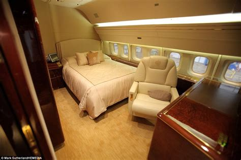 private jet with bedroom donald trump s 163 63m private jet complete with 24 carat