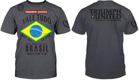 Hoodie Triump United Jiu Jitsu triumph united vale tudo t shirt