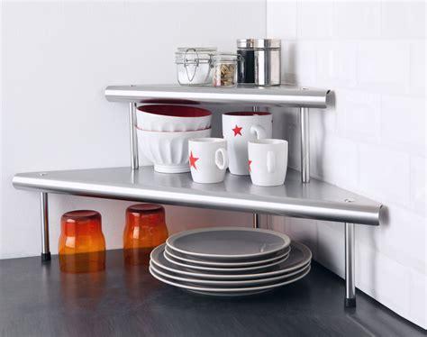 etagere d angle cuisine etag 232 res d angle pour la cuisine becquet