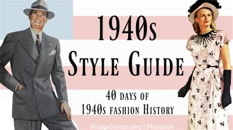 styles for late 40s men 1940s costume outfit ideas 16 women s looks