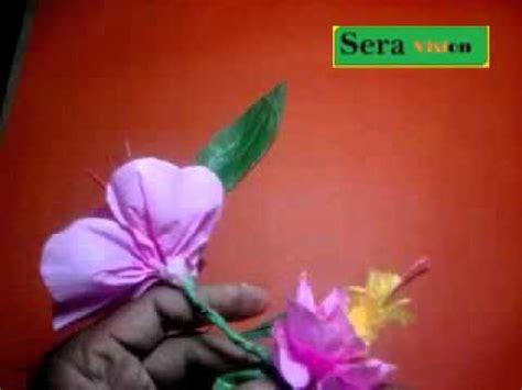 youtube membuat bunga dari kertas membuat kerajinan bunga anggrek dari kertas kreep youtube