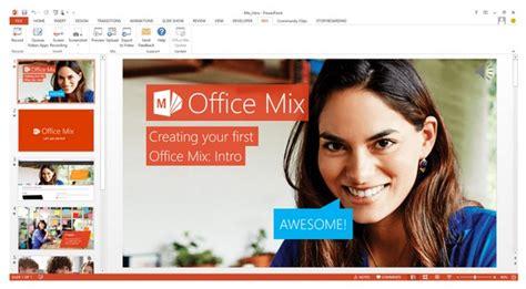 membuat presentasi lebih menarik office mix membuat presentasi jauh lebih menarik dan