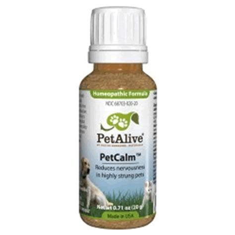 calming aid for dogs petalive petcalm 20 gr calming aid for dogs and cats