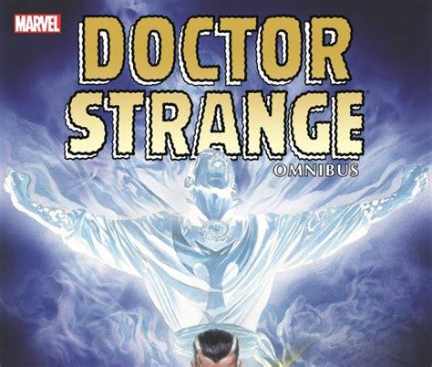 doctor strange omnibus vol doctor strange omnibus vol 1 ross cover hardcover comic books comics marvel com