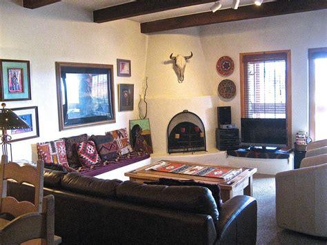 Santa Living Room App Condo With Views Of Santa Fe Mountains And City Vrbo