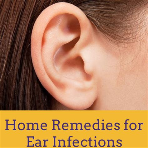 home remedies for ear infection parents