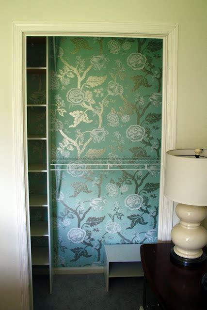 wallpapering a closet wallpapersafari wallpapering a closet wallpapersafari