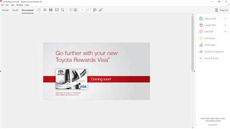 Toyota Rewards Visa Credit Card Re Toyota Rewards Visa Gt Gt Gt Comenity Capit