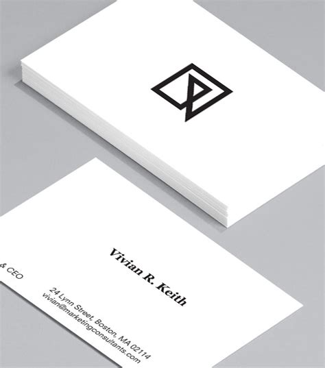 Visitenkarten Ceo by Browse Business Card Design Templates Moo United States