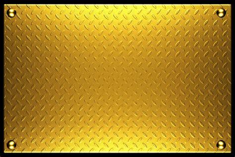 gold metal metal gold metallic steel plate texture background hq free