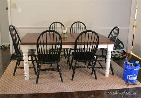 chalk paint kitchen table diy diy zinc top kitchen table beneath my