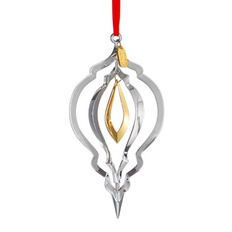 nambe annual ornament 2017 christmas ornament silver