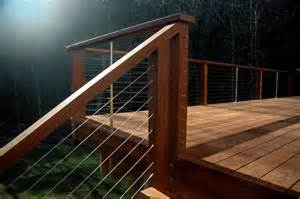 Handrail Support Spacing Accessories For Cable Railing Systems Stainless Cable