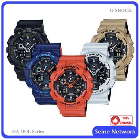 Casio G Shock Ga100 Original casio g shock ga 100l 1a orig end 6 22 2018 2 15 pm
