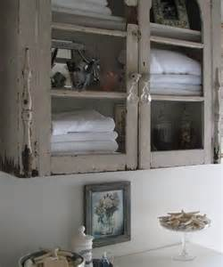 shabby chic bathroom cabinet for the home pinterest