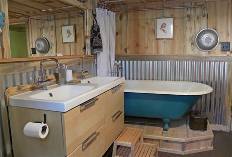 wainscoting kitchen backsplash interior exterior homie corrugated metal wainscoting bathroom craftsman with barn