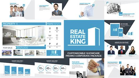 Real Estate King Corporate After Effects Templates F5 Design Com Real Estate After Effects Template