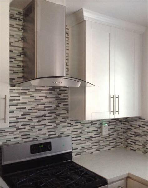Black Subway Tile Kitchen Backsplash bin pulls and knobs vs bar pulls with shaker cabinets