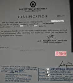 Certification Letter Good Moral Character good moral character letter for employee certificate of good moral
