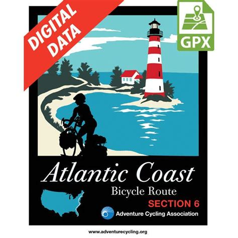 Coast Section by Adventure Cycling Association Atlantic Coast Section 6