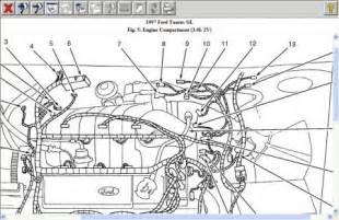 1997 ford taurus sensor electrical problem 1997 ford taurus 6 cyl