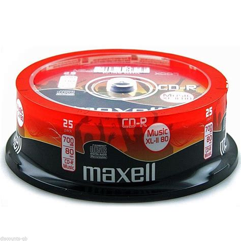format cd r disc 50 maxell music cdr discs for audio cables4all