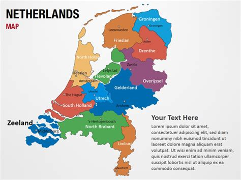 netherlands map map netherlands map powerpoint map slides netherlands map