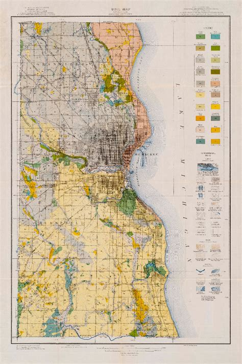 Milwaukee County Records Wisconsin Geological History Survey 187 Soil Survey Of Milwaukee County