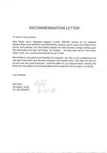 Recommendation Letter For Caregiver by 8 Best Images About Resume On Portal Resume