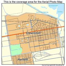 aerial photography map of clewiston fl florida