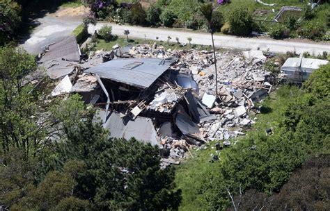 earthquake in new zealand strong earthquake hits new zealand
