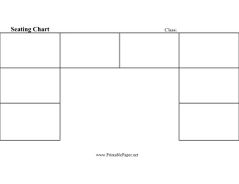 u shaped classroom seating chart template seating chart u shaped paper